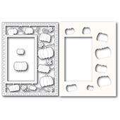2244 Pumpkin Patch Sidekick Frame and Stencil craft die