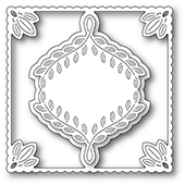 2253 Leafy Ornament Frame craft die