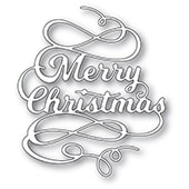 2268 Merry Christmas Flourish craft die