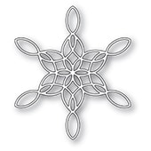 2271 Stained Glass Snowflake craft die