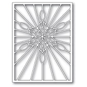 2273 Stained Glass Snowflake Window craft die