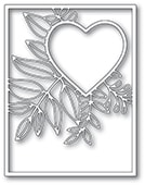 2298 Graceful Heart Frame craft die