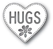 2299 Hugs Heart craft die