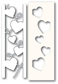 2301 Curvy Heart Side Strips and Stencil craft die