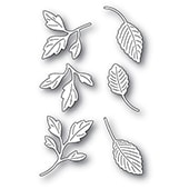 2343 Orchard Leaves craft die