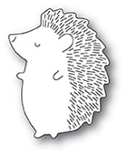 2381 Big Hedgehog Left craft die