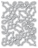 2392 Holly Background craft die
