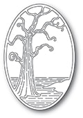 2401 Twisted Tree Oval craft die