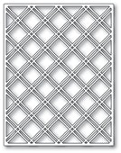 2436 Double Diamond Lattice Plate craft die