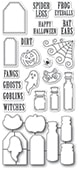 CB493 Halloween Ingredients clear stamp and die set