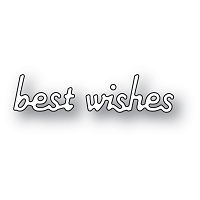 2145 Simple Best Wishes craft die