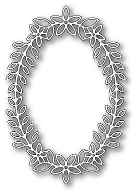 1398 Peppini Oval Frame craft die