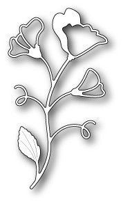1404 Sweet Pea Stem craft die