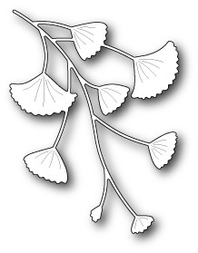 1435 Gingko Branch craft die