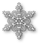1585 Callum Stitched Snowflake craft die