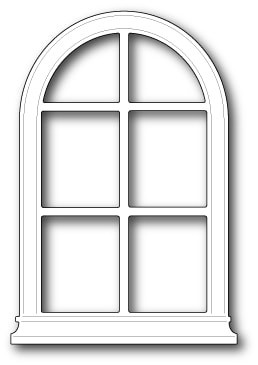 847 Grand Madison Arched Window craft die