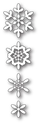 1909 Boho Snowflakes craft die