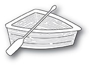 2036 Wooden Rowboat craft die