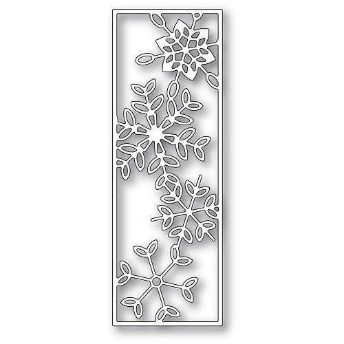 2277 Dancing Snowflake Tile craft die