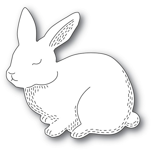 2362 Whittle Cutie Rabbit craft die